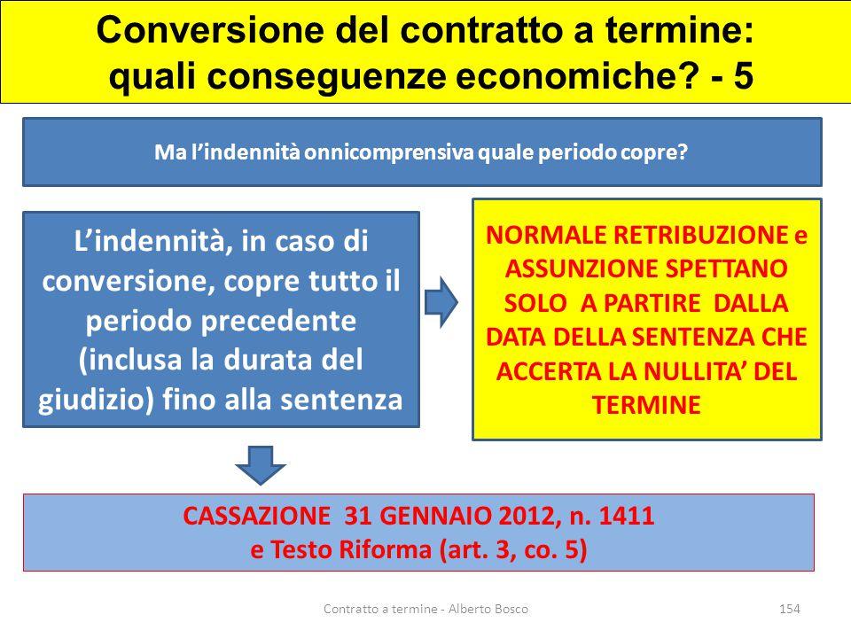 Conversione del contratto a termine: quali conseguenze economiche - 5
