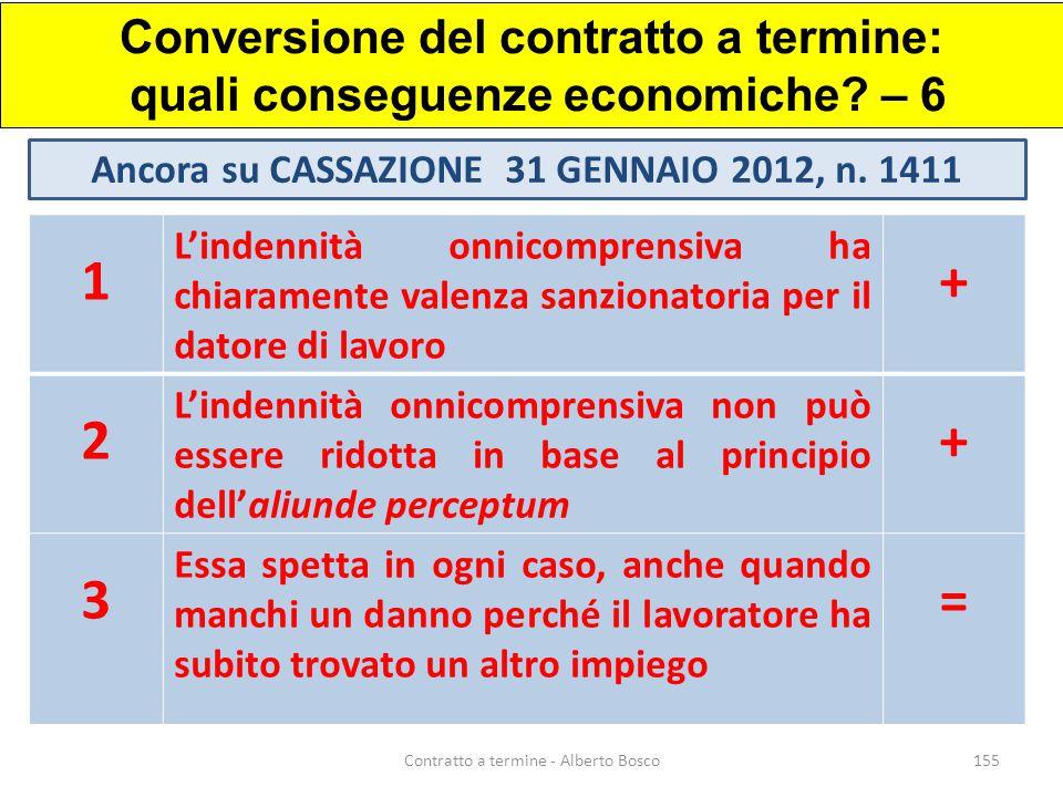 Conversione del contratto a termine: quali conseguenze economiche – 6