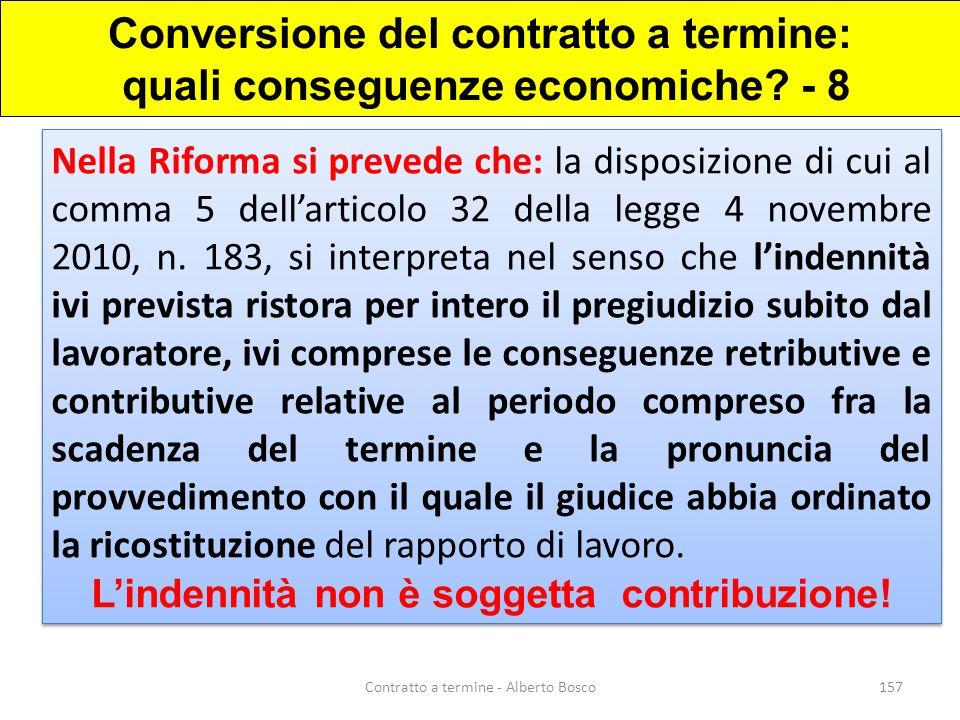Conversione del contratto a termine: quali conseguenze economiche - 8