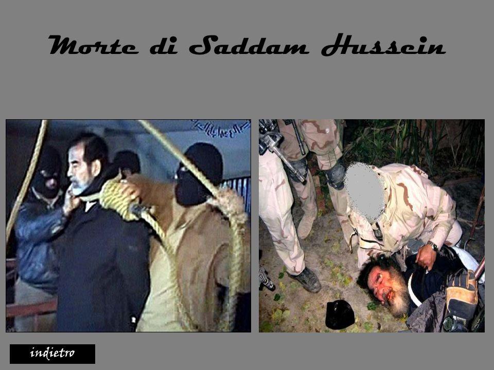 Morte di Saddam Hussein