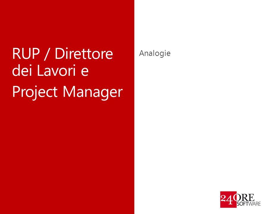RUP / Direttore dei Lavori e Project Manager