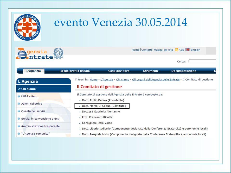 evento Venezia 30.05.2014