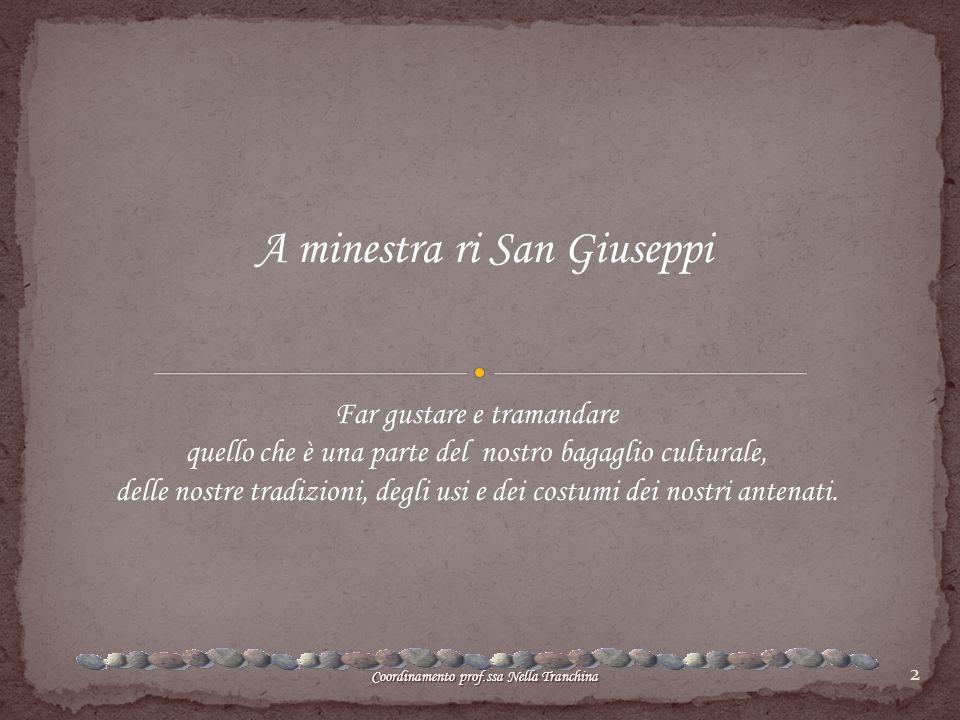 A minestra ri San Giuseppi