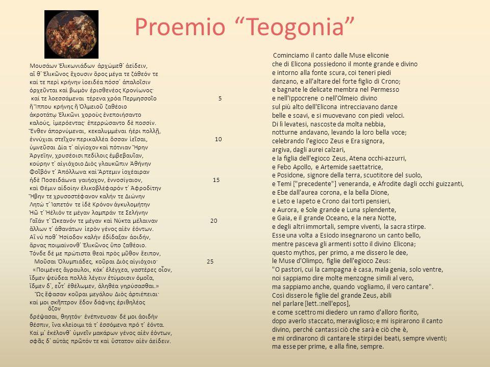Proemio Teogonia