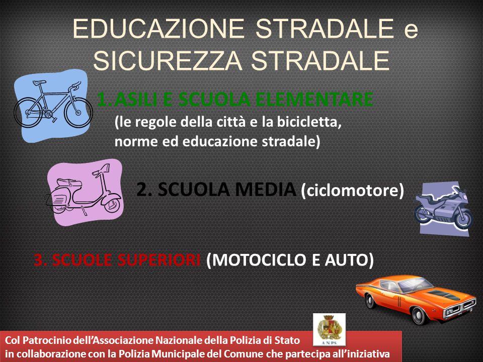 EDUCAZIONE STRADALE e SICUREZZA STRADALE