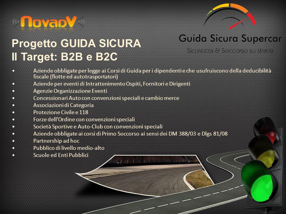 Progetto GUIDA SICURA Il Target: B2B e B2C