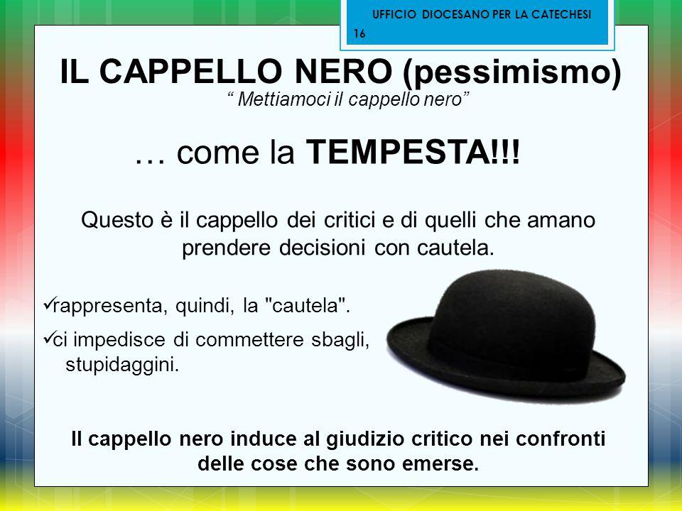 IL CAPPELLO NERO (pessimismo)