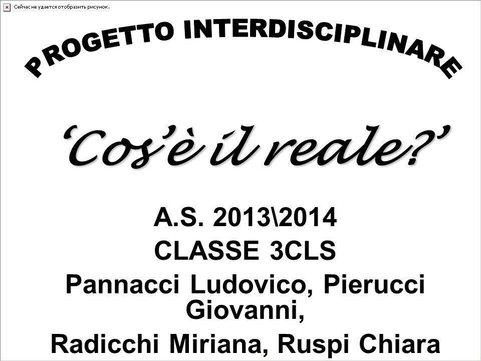 Pannacci Ludovico, Pierucci Giovanni, Radicchi Miriana, Ruspi Chiara