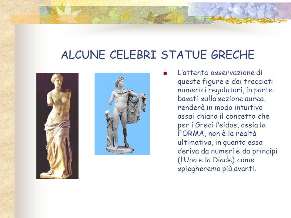 ALCUNE CELEBRI STATUE GRECHE