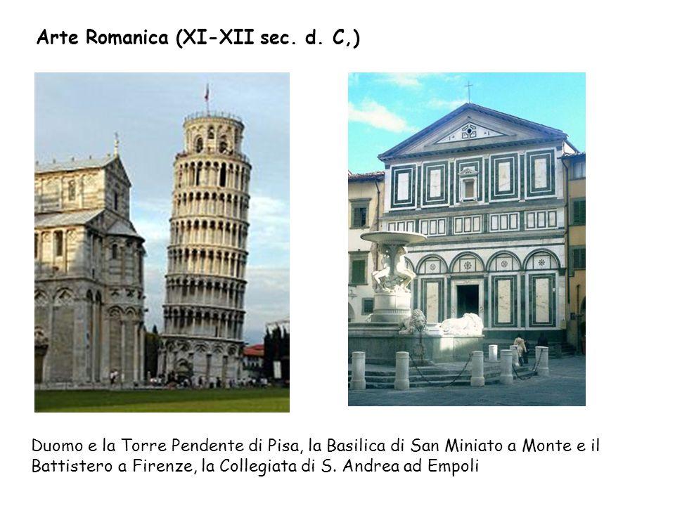 Arte Romanica (XI-XII sec. d. C,)