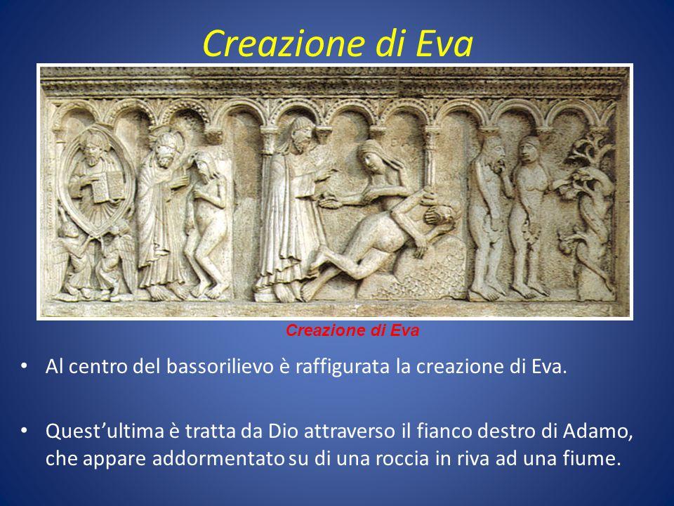 Creazione di Eva Creazione di Eva. Al centro del bassorilievo è raffigurata la creazione di Eva.