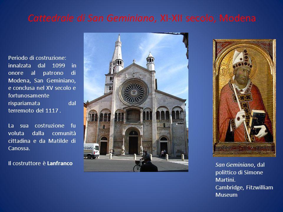 Cattedrale di San Geminiano, XI-XII secolo, Modena