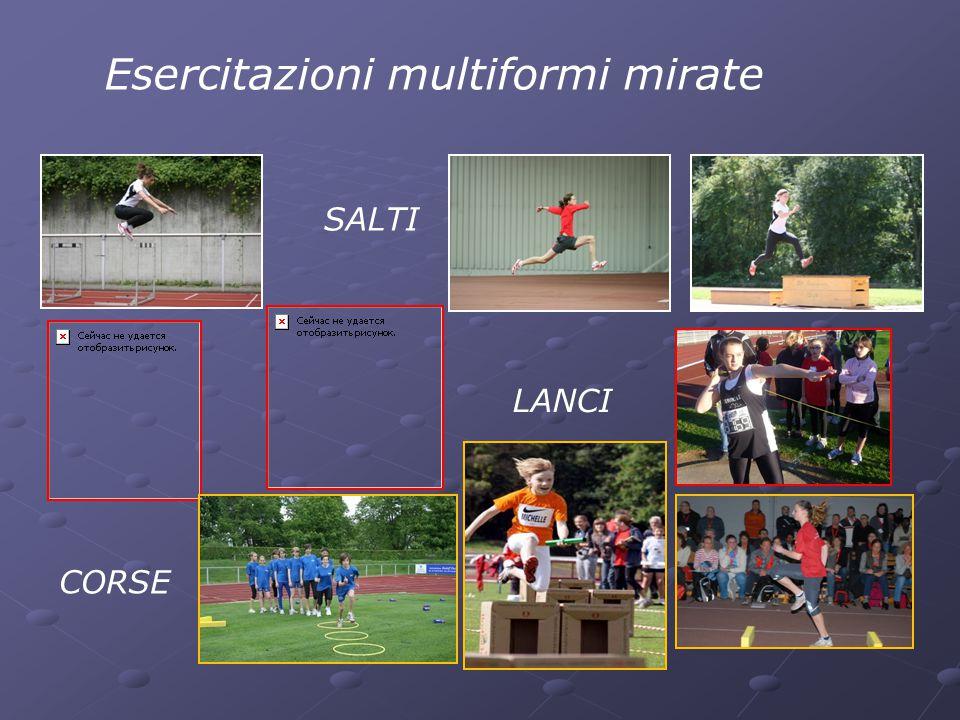 Esercitazioni multiformi mirate