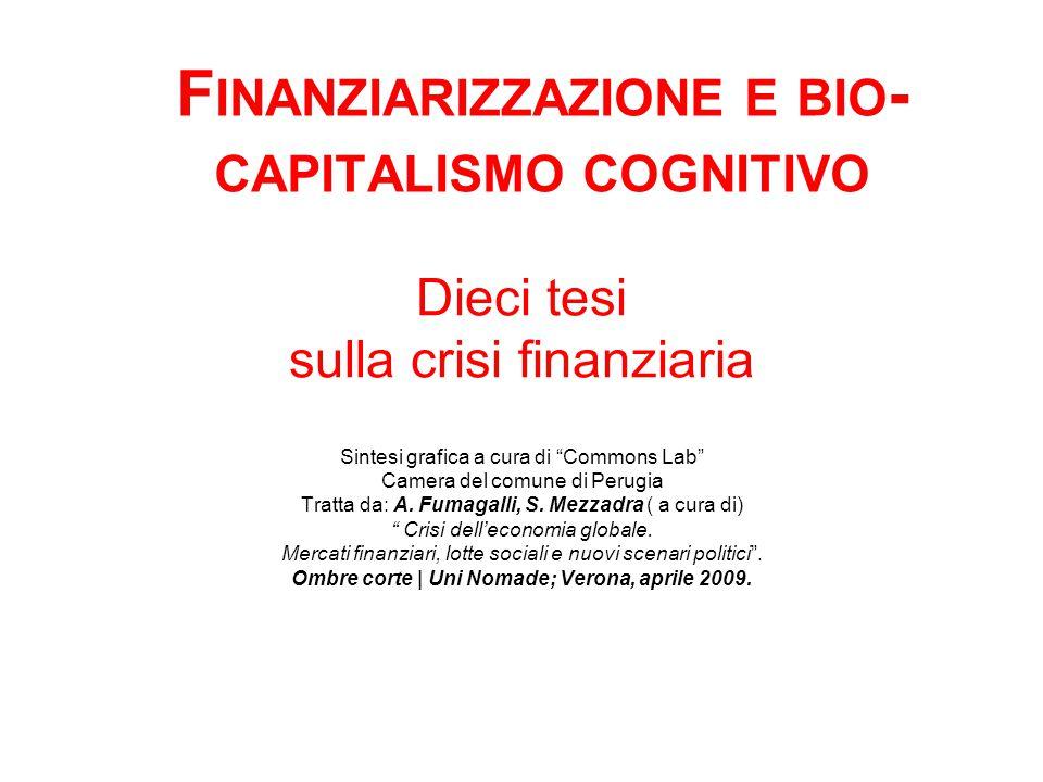Dieci tesi sulla crisi finanziaria