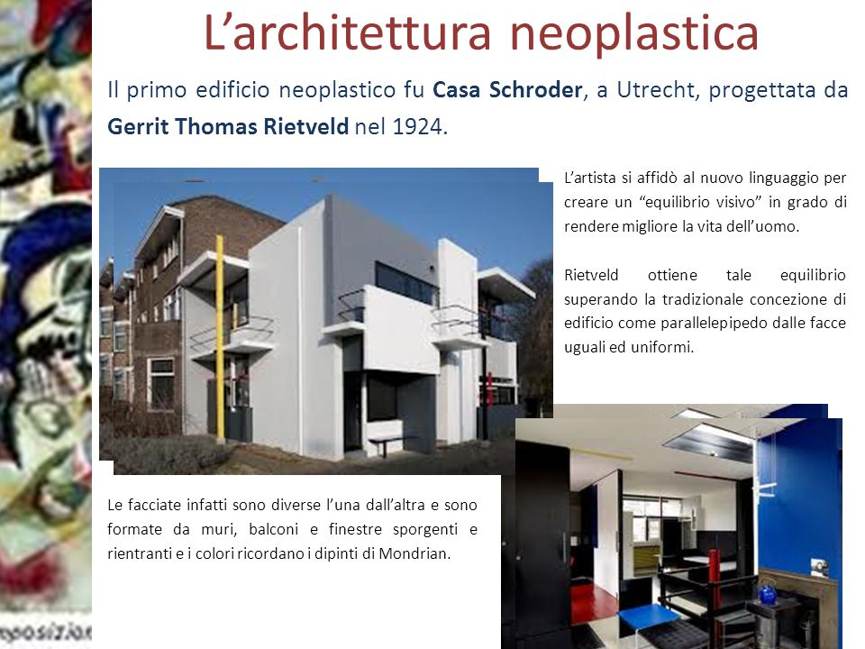 L'architettura neoplastica