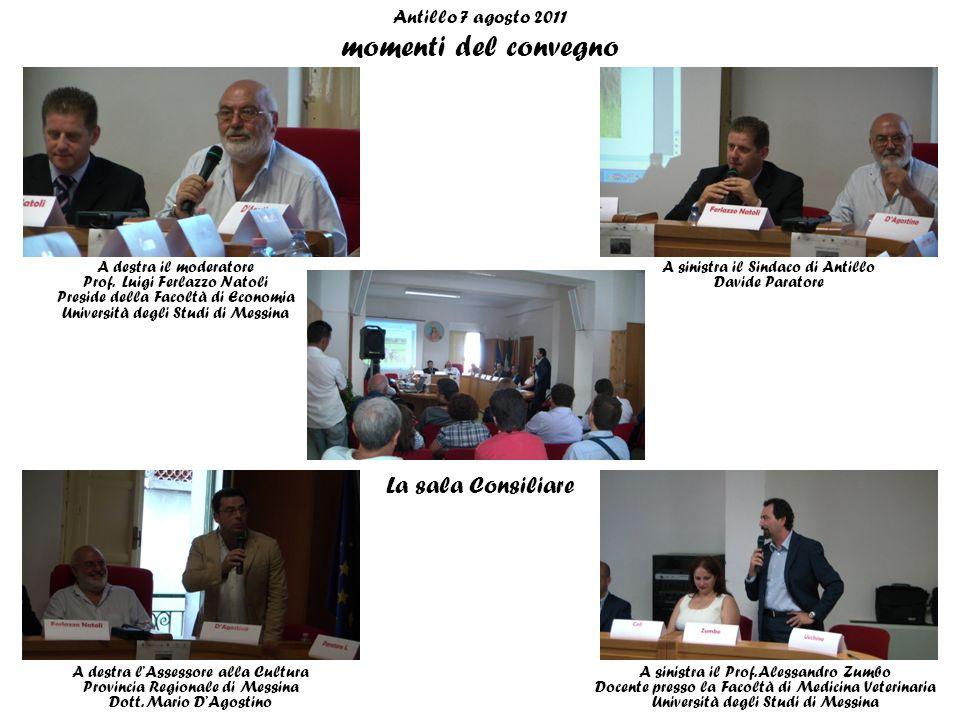 Antillo 7 agosto 2011 momenti del convegno