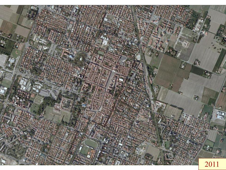 Paesaggio e insediamenti sottoposti a fortissime trasformazioni negli ultimi due secoli…