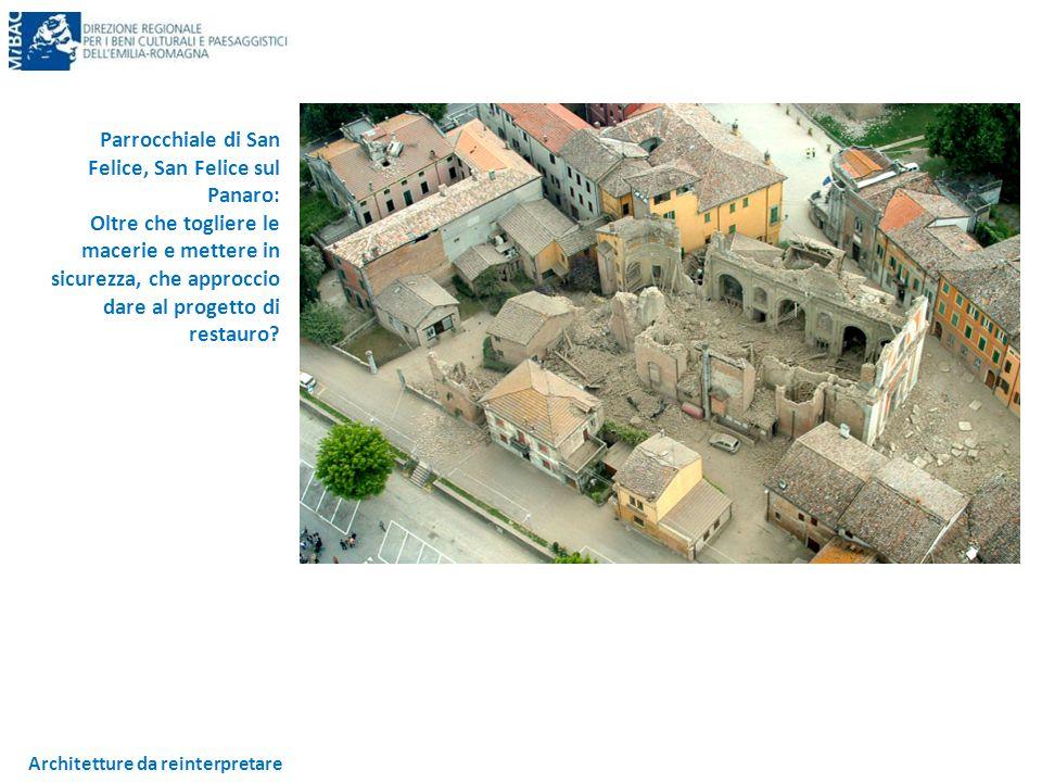 Architetture da reinterpretare