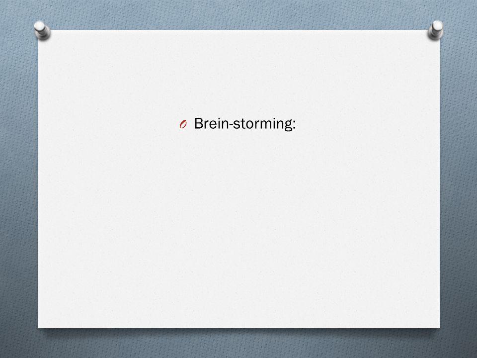 Brein-storming: