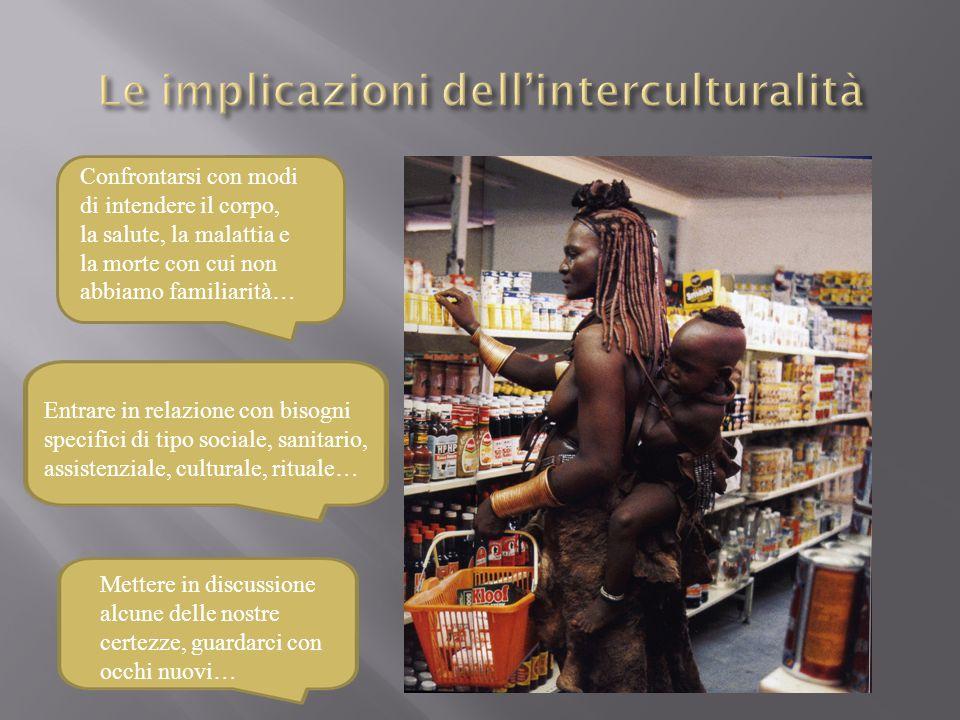 Le implicazioni dell'interculturalità
