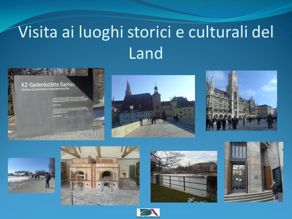 Visita ai luoghi storici e culturali del Land