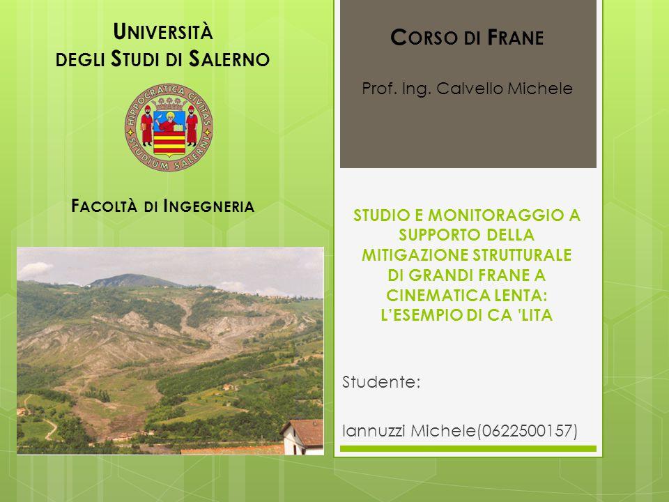 Studente: Iannuzzi Michele (0622500157)