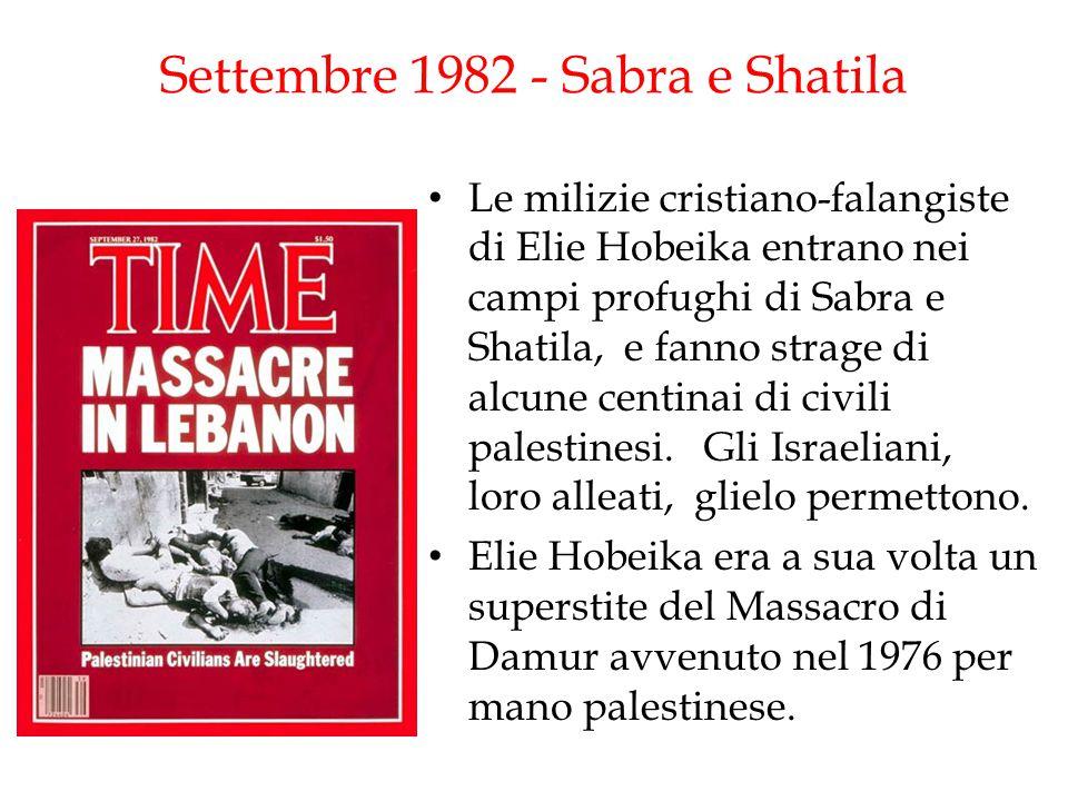 Settembre 1982 - Sabra e Shatila