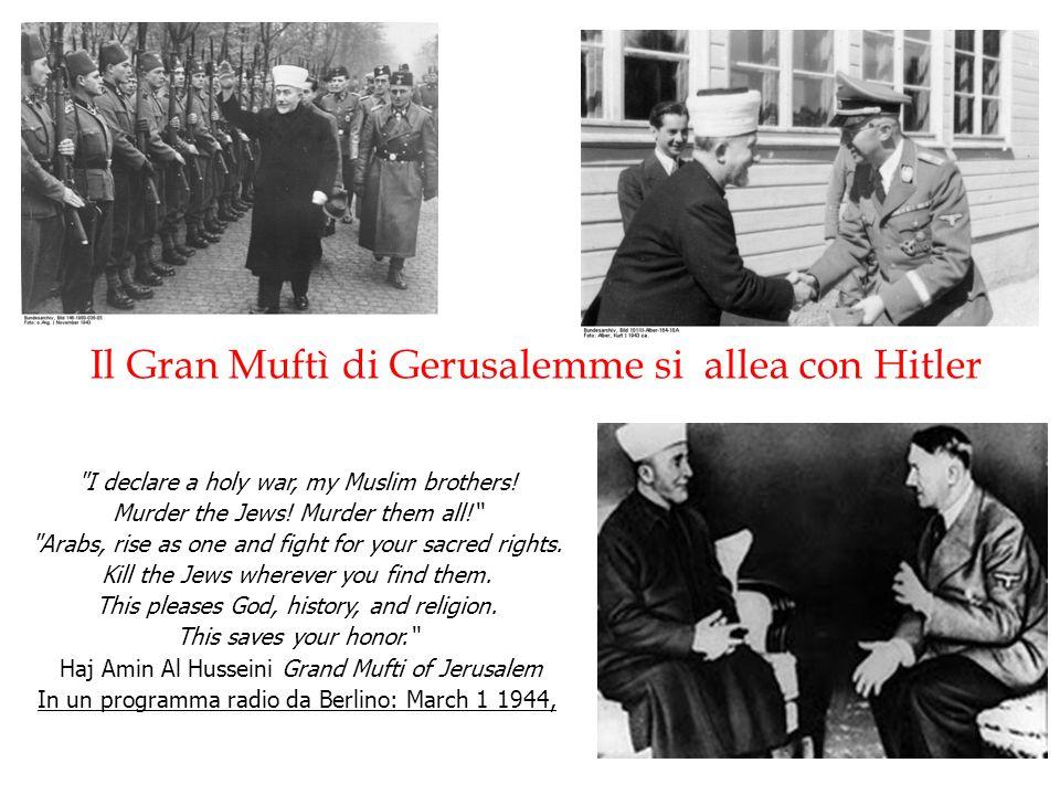 Il Gran Muftì di Gerusalemme si allea con Hitler