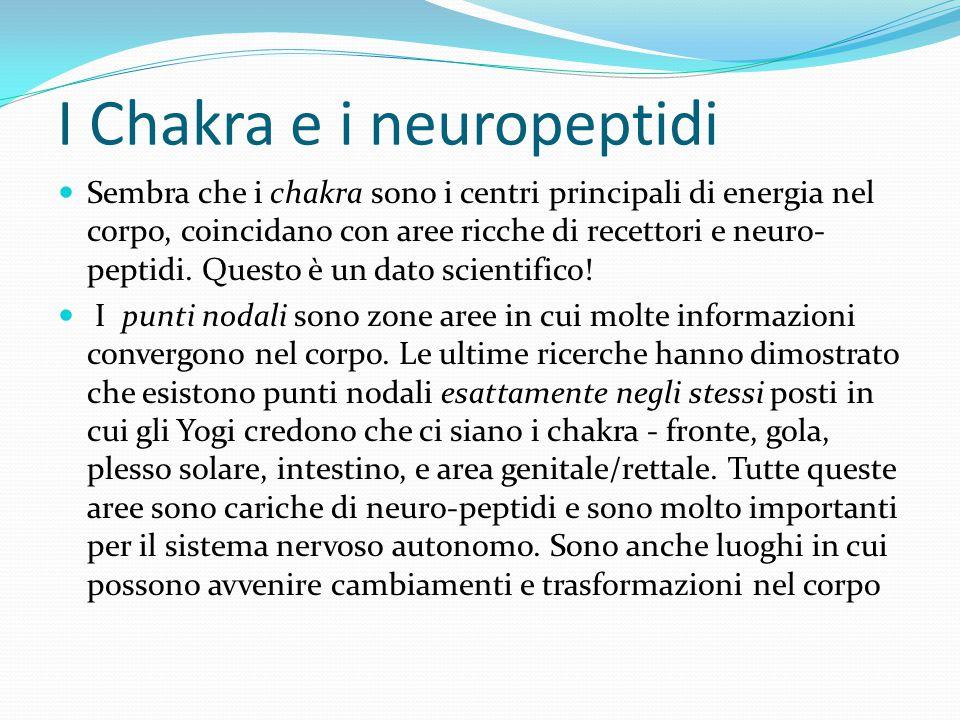 I Chakra e i neuropeptidi