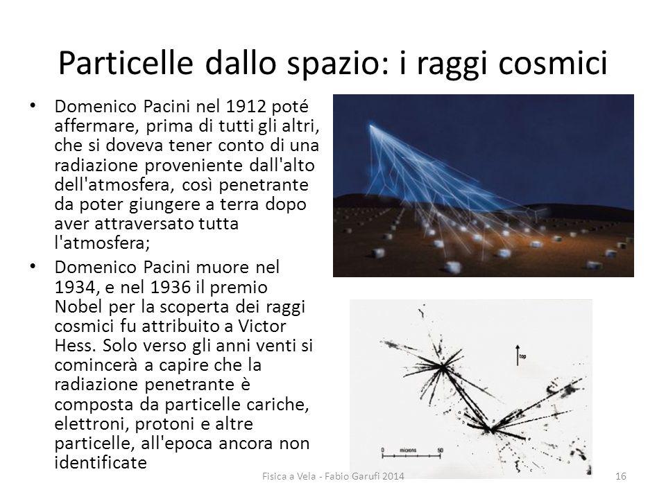 Particelle dallo spazio: i raggi cosmici