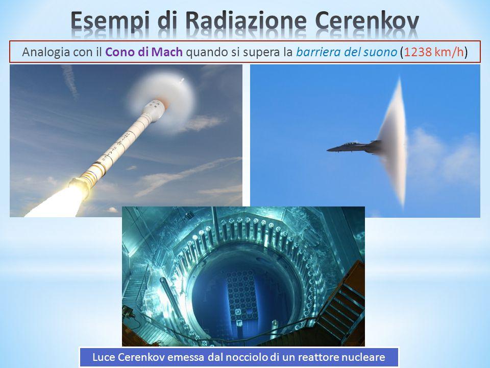 Esempi di Radiazione Cerenkov