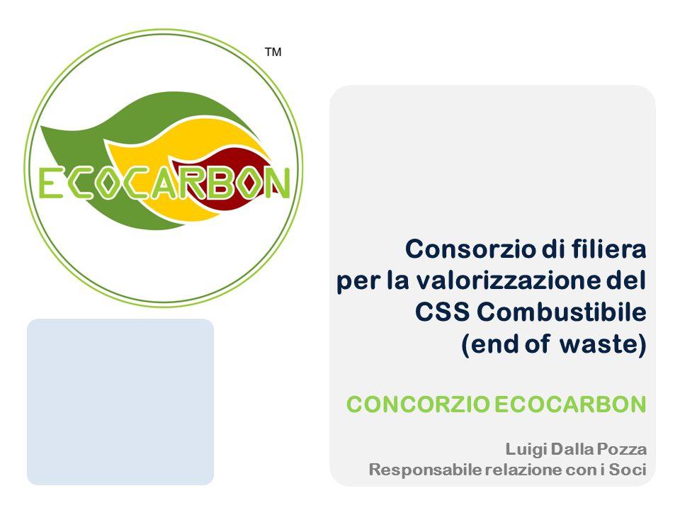 per la valorizzazione del CSS Combustibile (end of waste)