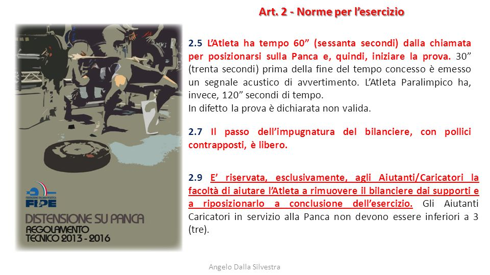 Art. 2 - Norme per l'esercizio