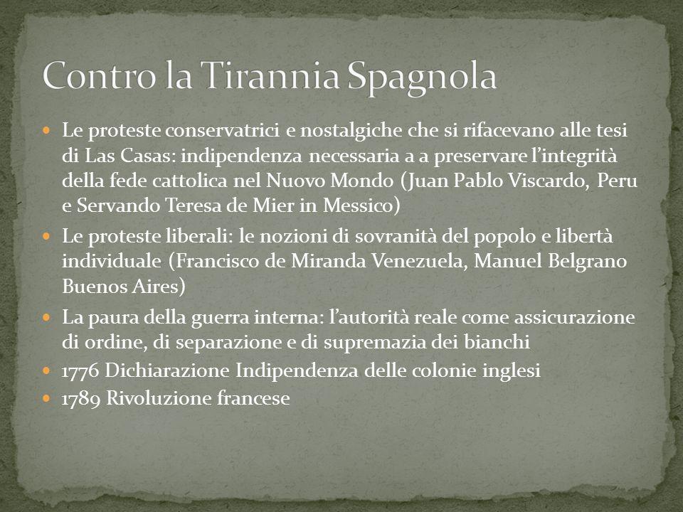 Contro la Tirannia Spagnola