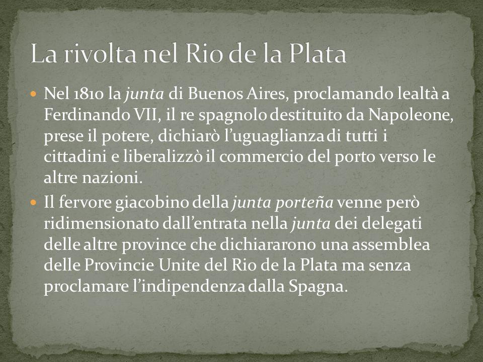 La rivolta nel Rio de la Plata