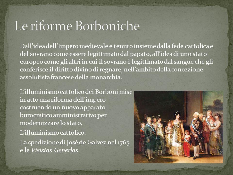 Le riforme Borboniche