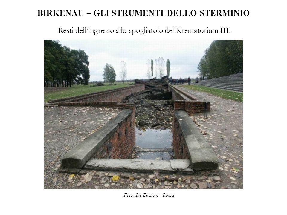 BIRKENAU – GLI STRUMENTI DELLO STERMINIO