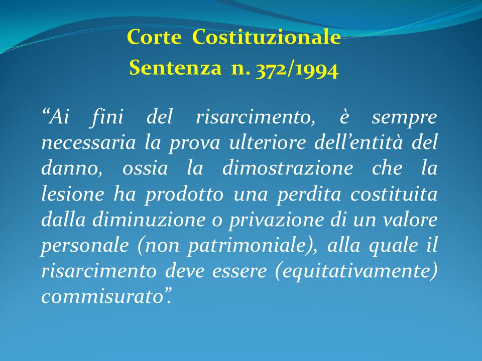 Corte Costituzionale Sentenza n. 372/1994