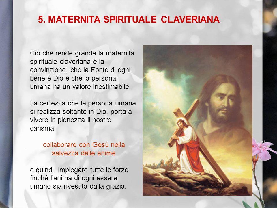 5. MATERNITA SPIRITUALE CLAVERIANA