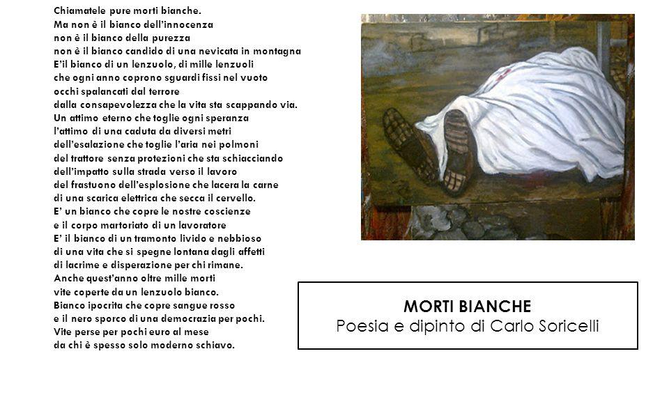 Poesia e dipinto di Carlo Soricelli