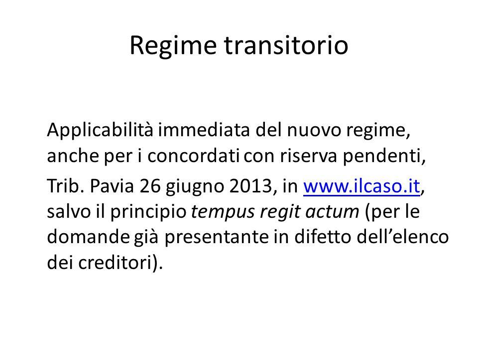 Regime transitorio