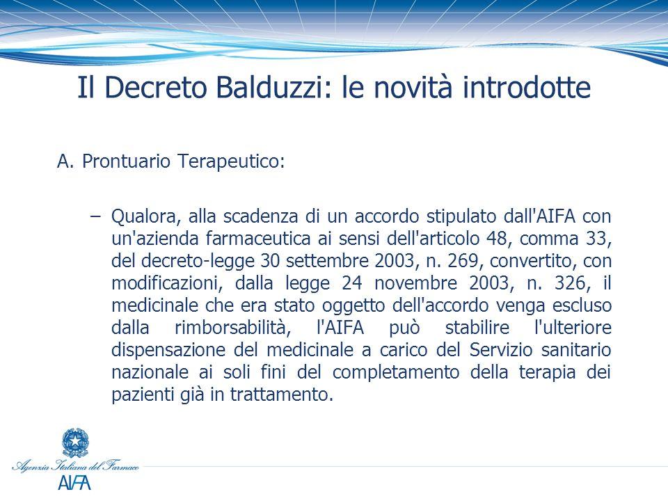 Il Decreto Balduzzi: le novità introdotte