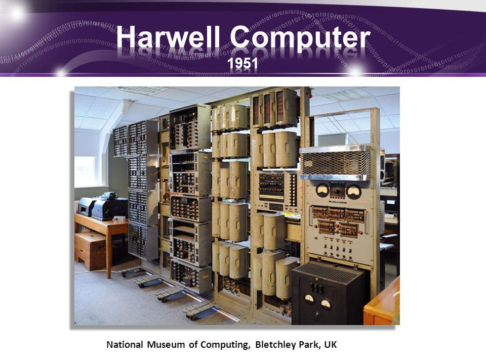 Harwell Computer 1951 National Museum of Computing, Bletchley Park, UK