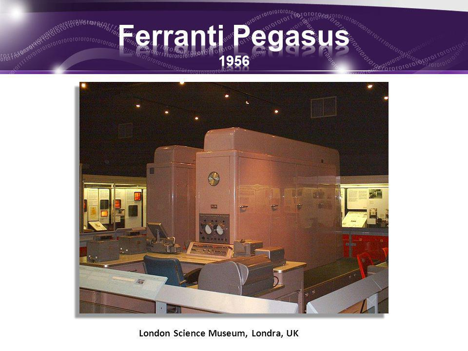 Ferranti Pegasus 1956 London Science Museum, Londra, UK