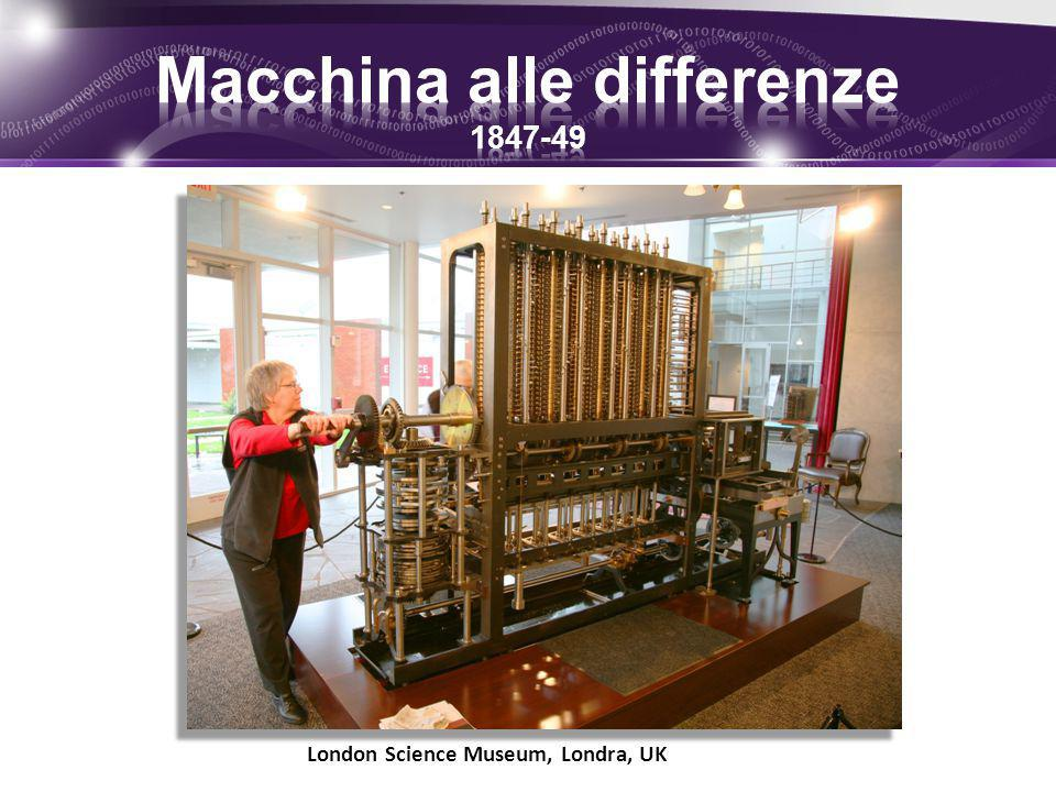 Macchina alle differenze 1847-49