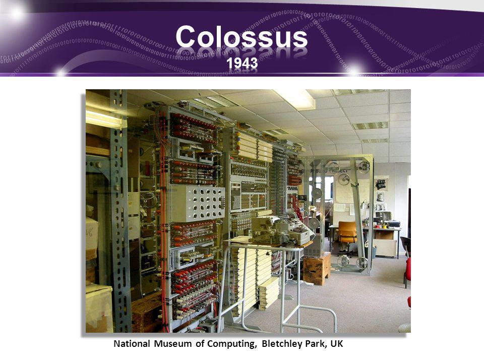 Colossus 1943 National Museum of Computing, Bletchley Park, UK