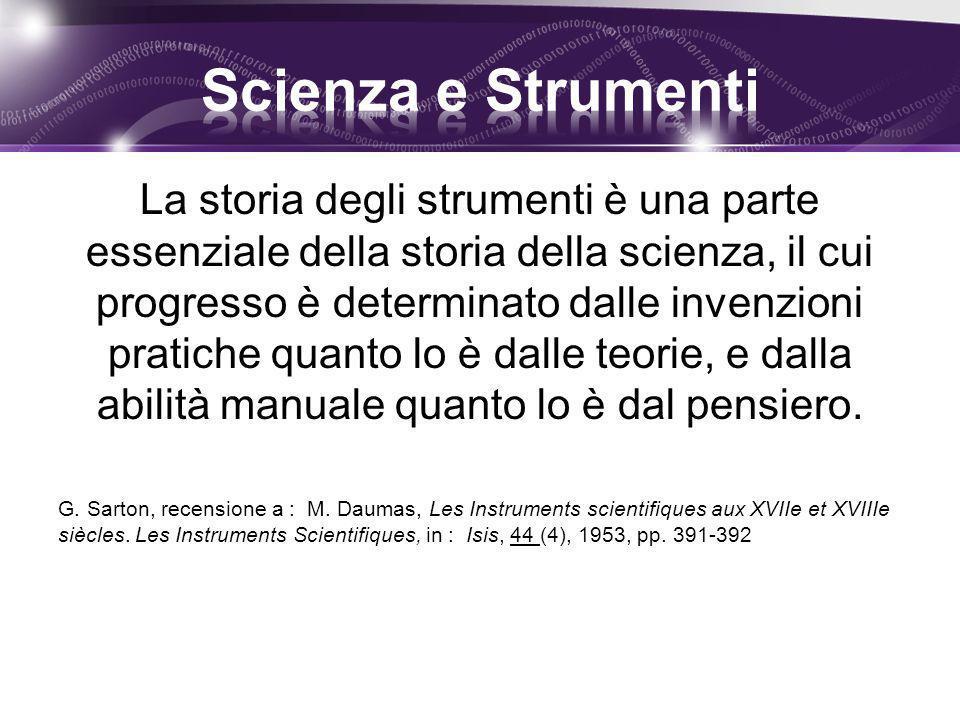 Scienza e Strumenti