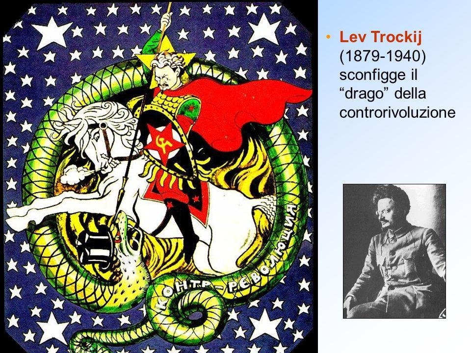 Lev Trockij (1879-1940) sconfigge il drago della controrivoluzione