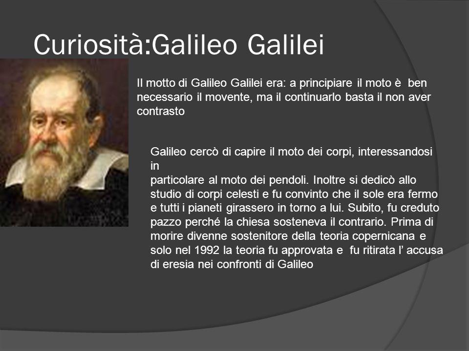 Curiosità:Galileo Galilei