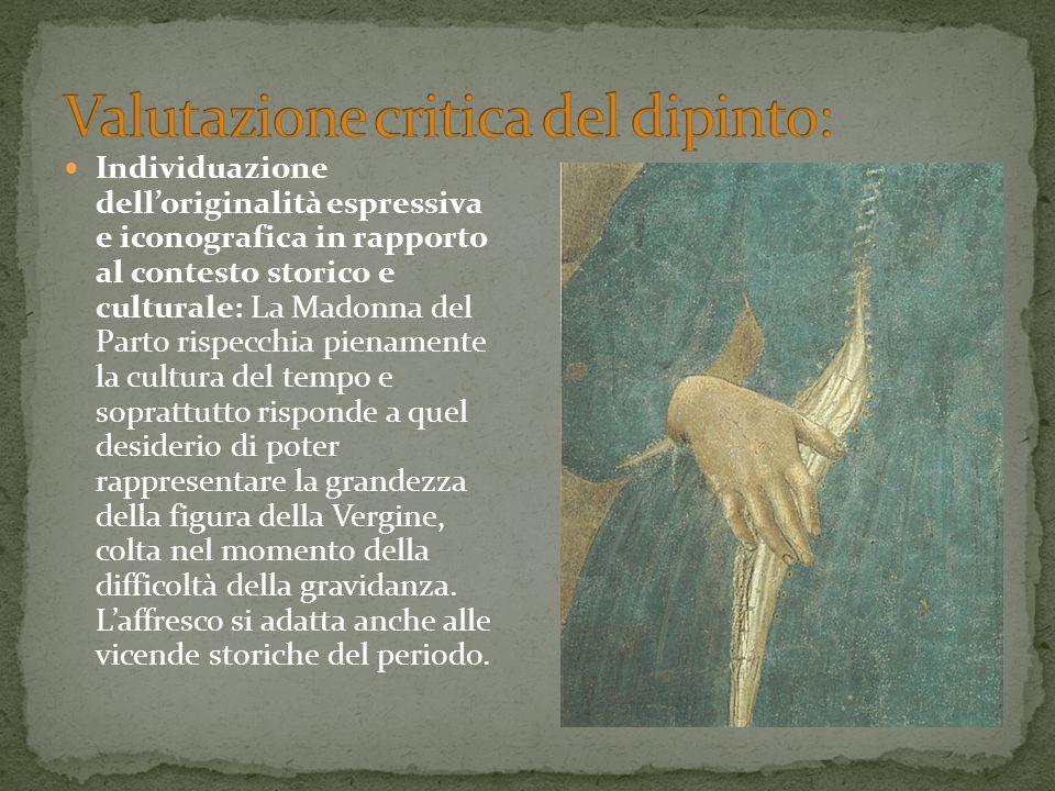 Valutazione critica del dipinto: